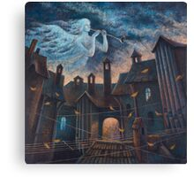 Concert For Angel With Orchestra Canvas Print