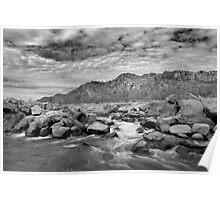 Spillway Creek off Lake Argyle, Western Australia Poster