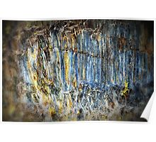 Natural Stone Abstract Poster