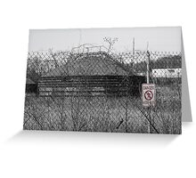 Danger! Keep Out! Greeting Card