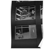 glass concrete steel. melbourne, victoria. Poster