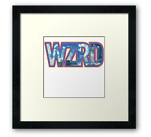 WZRD KID CUDI RAP HIP HOP SOUL Framed Print