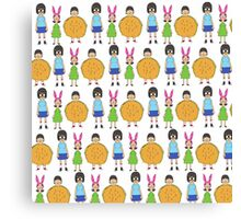 Belchers, from the womb to the tomb Canvas Print