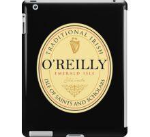 Irish Names O'Reilly iPad Case/Skin