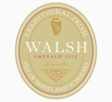 Irish Names Walsh One Piece - Long Sleeve