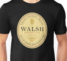 Irish Names Walsh Unisex T-Shirt
