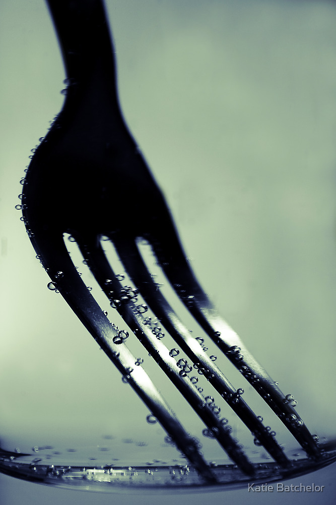 Fork in Carbonated Water by Katie Batchelor