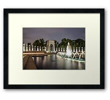 Glory of Pacific Framed Print