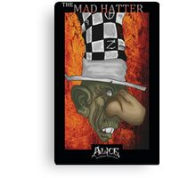 Alice - Mad Hatter Canvas Print