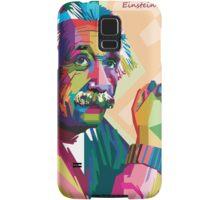 albert einstein WPAP Samsung Galaxy Case/Skin