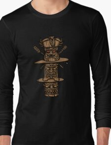 TIKI TIKI TIME Long Sleeve T-Shirt