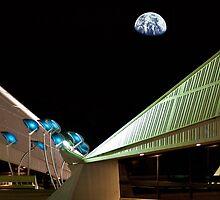 Alien Observation Deck by Rhoufi