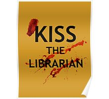 Spike's Kiss the Librarian Mug Poster