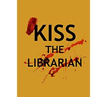 Spike's Kiss the Librarian Mug Photographic Print