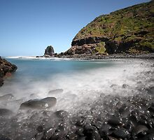 Pebbles at the Pulpit - Cape Schanck by Jim Worrall