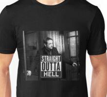 Straight Outta Hell-2 Unisex T-Shirt