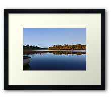 Derries Lake in Autumn colours #3 Framed Print