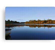 Derries Lake in Autumn colours #3 Canvas Print