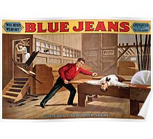 Poster 1890s Blue Jeans (play) Poster