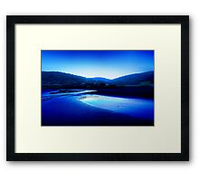 Kennett River Sunset in HDR - Great Ocean Road Australia Framed Print