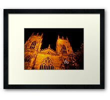 York Minster - 2 Framed Print