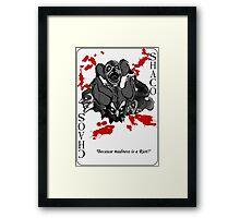 League of Legends - Shaco Card Framed Print