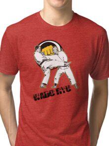 Wado ryu Tri-blend T-Shirt