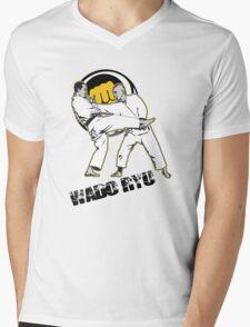 Wado ryu Mens V-Neck T-Shirt