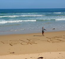 Jesus Died for You! - Great Ocean Road Australia by AusDisciple