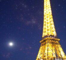 paris at night Sticker