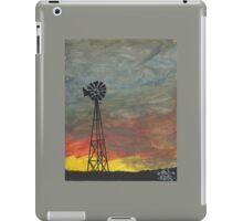 kansas plains painting iPad Case/Skin