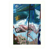 'Dreamer on the Shore' Art Print