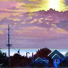 'Sunset over Pamlico Sound' by Jerry Kirk