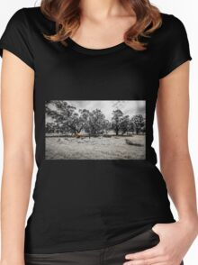 Rural Relics Women's Fitted Scoop T-Shirt