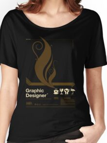 Graphic Designer Women's Relaxed Fit T-Shirt