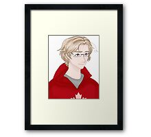 the canada Framed Print