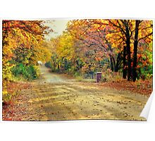 Color Book Road  Poster
