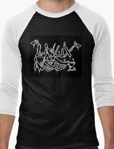 Linux Inside Men's Baseball ¾ T-Shirt