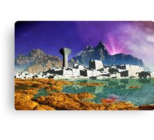 Down By The Seaside Canvas Print
