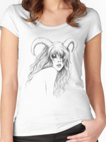 Aries Women's Fitted Scoop T-Shirt