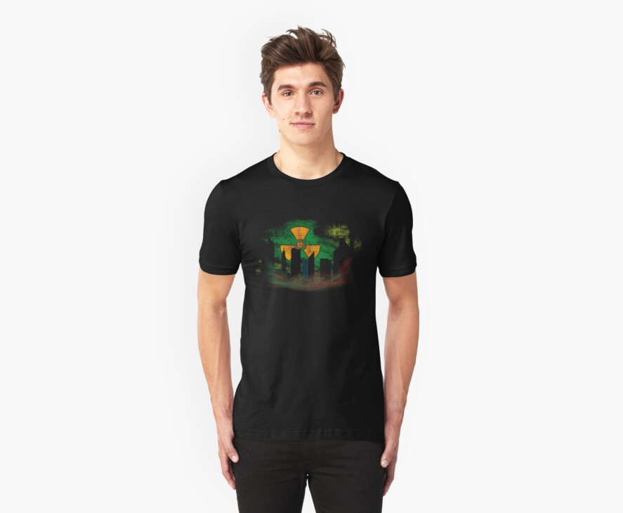 Toxic Skyline Tee by Neoran
