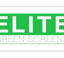 Elite Green Screens Box Logo Sticker