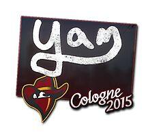 Renegades yam Cologne 2015 Autogaph Sticker by BRPlatinum