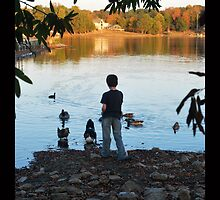 Tommy and the hungry ducks by kebell