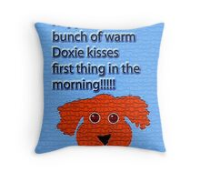 For The Love Of Katie Throw Pillow