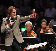 Eric Whitacre with Sriracha by Brett Leavelle