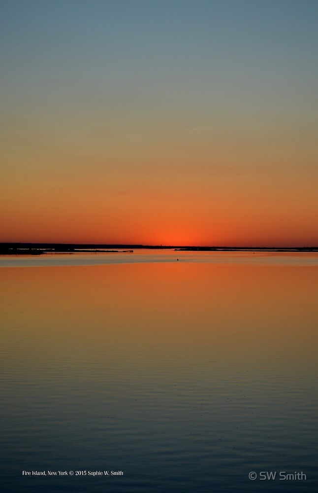 Twilight - Waiting For Sunrise | Fire Island, New York  by © Sophie W. Smith
