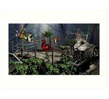 Fairytale Story Cards & Prints Art Print