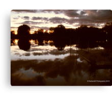 Natures Mirror - Reflections Canvas Print