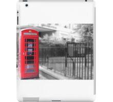 london phone booth iPad Case/Skin